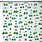 InterDesign® Frogs 72-Inch x 72-Inch EVA Shower Curtain