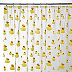 Interdesign® Ducks 72-Inch x 72-Inch EVA Shower Curtain