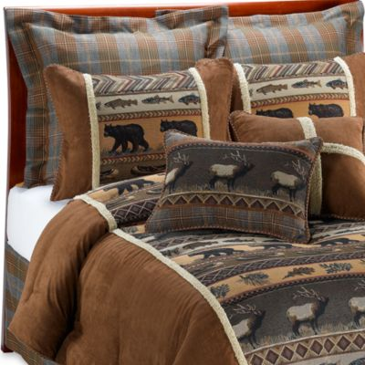Croscill® Caribou California King Comforter Set
