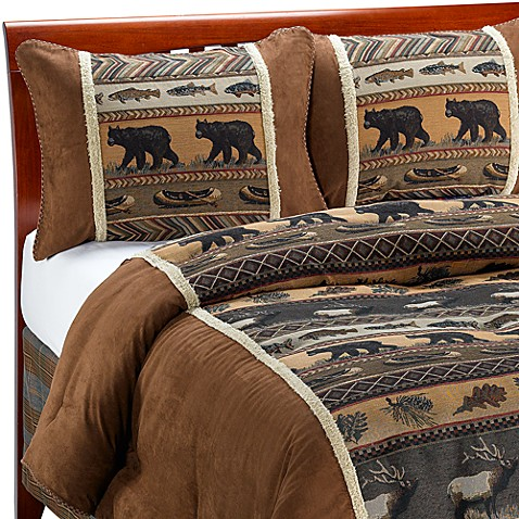 Croscill® Caribou Full Comforter Set