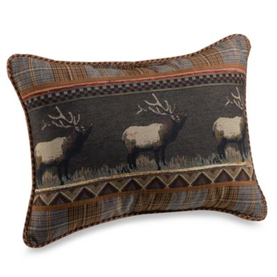 Croscill® Caribou Boudoir Throw Pillow
