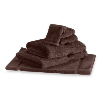Palais Royale™ Hotel Washcloth in Chocolate