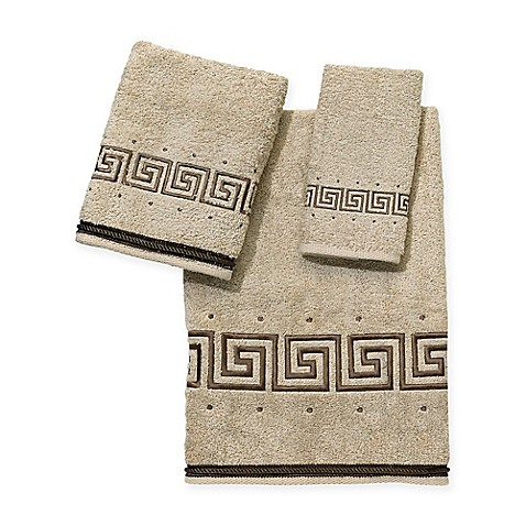Avanti Premier Athena Washcloth in Linen