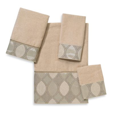 Avanti Eclipse Linen Washcloth