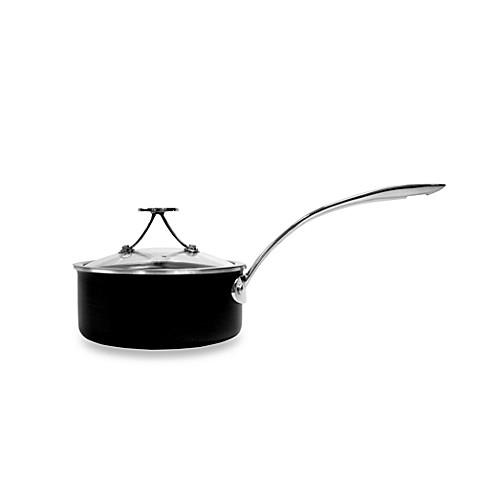 Tyler Florence Steel Clad 1 1/2-Quart Covered Sauce Pan