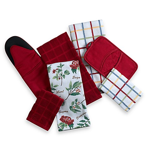 Kitchensmart® Kitchen Towels and Pot Holders