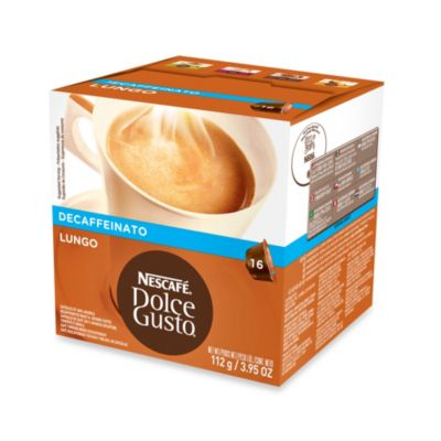Nescafe® 16-Count Dolce Gusto® Caffe Lungo Decaffeinated Capsules