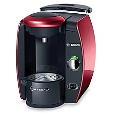 Tassimo T-45 Suprema Single-Serve Beverage Maker - Red