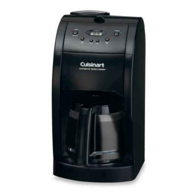 Cuisinart Automatic Grind And Brew Coffee Maker Problems : Cuisinart 10-Cup Grind & Brew Coffee Maker - Bed Bath & Beyond