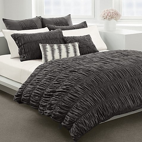 Dkny Willow Grey Duvet Cover By Dkny 100 Cotton Bed