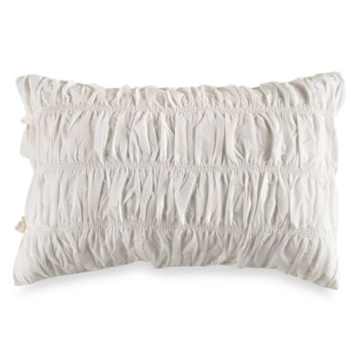 DKNY Standard Sham in Willow White