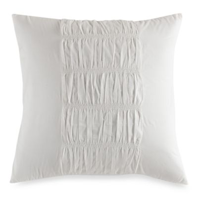 DKNY European Sham in Willow White