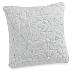 DKNY 18-Inch Square Toss Pillow in Willow White