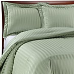 Wamsutta® Damask Stripe Green Comforter Set