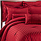 Wamsutta® Damask Stripe Comforter Set in Red