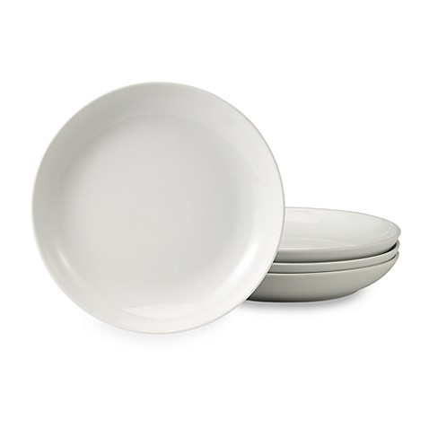 B. Smith 8 1/2-Inch Round Porcelain Buffet Plates (Set of 4)