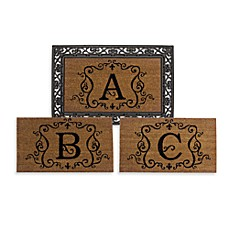 Rubber Door Mat Frame and Monogram Inserts