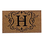 Monogram Doormat Insert in Letter