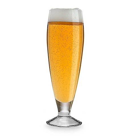 Mikasa® Brewmasters 18-Ounce Pilsner Glasses (Set of 4)
