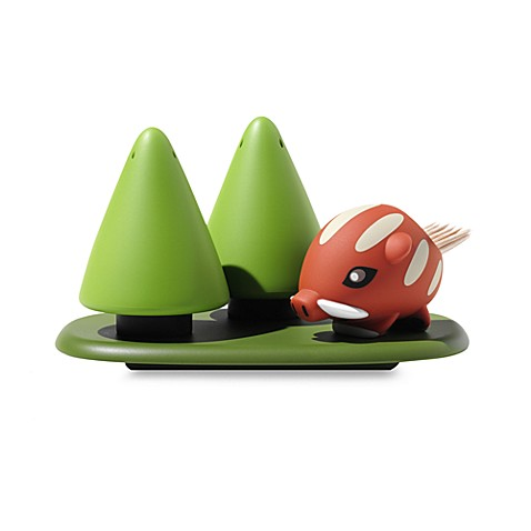 Alessi Forest Gump Condiment Set