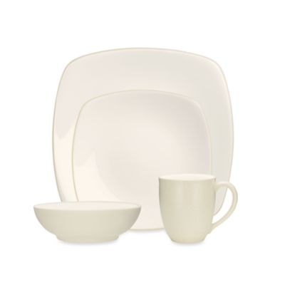 Noritake® Colorwave Cream Square 4-Piece Place Setting