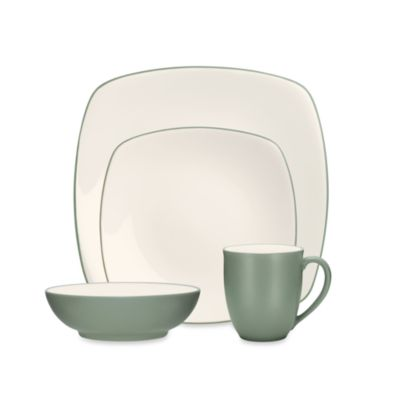 Noritake® Colorwave Green Square 4-Piece Place Setting
