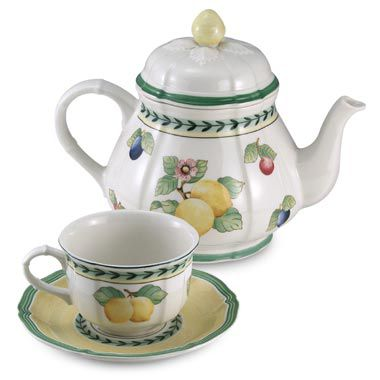 Fleurence 6 3/4-Ounce Teacup