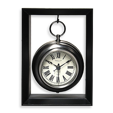 Hanging Pocket Watch Table Clock