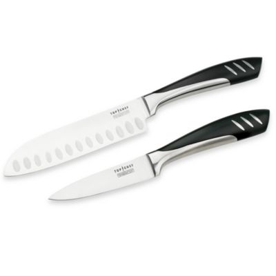 Top Chef 5-Inch Santoku Knife and 3 1/2-Inch Paring Knife Set