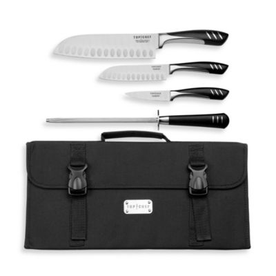 Top Chef 5-Piece Knife Set and Carrying Case