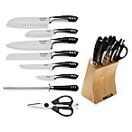 Top Chef 9-Piece Knife Set with Butcher Block