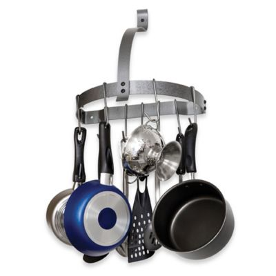 Rack It Up Half Moon Pot Rack