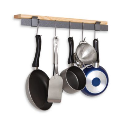 Enclume Rack It Up Hemlock Shelf Pot Rack