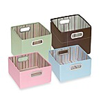 JJ Cole® Striped Storage Box