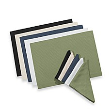 McKenna Microfiber Placemat and Napkins