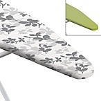 Ironing Board Cover with Reversible Pad in Floral Silhouette