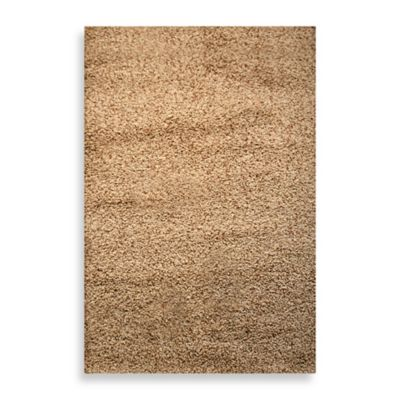 Burley Tan 5-Foot x 8-Foot Room Size Rug
