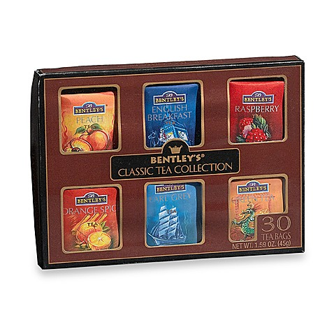 Bentley's® Classic Tea Sampler (30 Count)