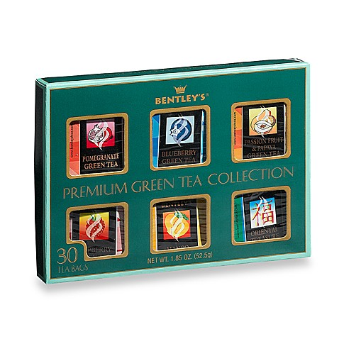 Bentley's® 30-Count Green Tea Assortment