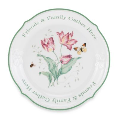 Lenox® Butterfly Meadow® Sentiment Dessert Platter
