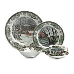 Friendly Village 5-Piece Dinnerware Place Setting by Johnson Brothers