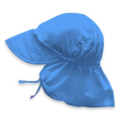 i play.® Newborn Sun Flap Hat in Light Blue