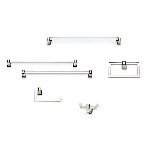Sutton Place Polished Nickel 18-Inch Towel Bar
