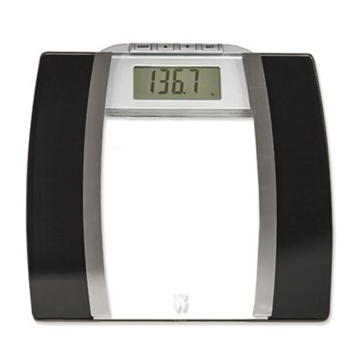 Weight Watchers® Glass Body Analysis Bathroom Scale