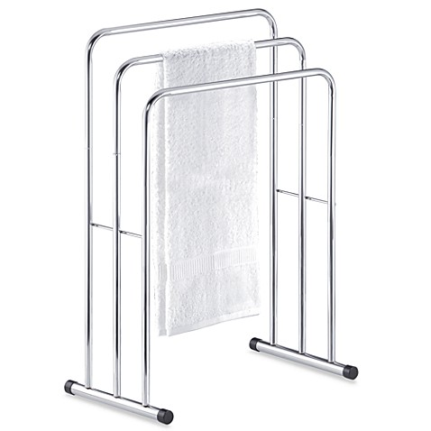 Buy Three Tier Free Standing Towel Stand Valet From Bed