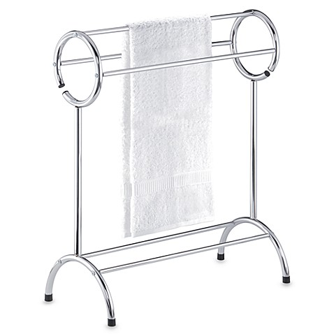 Three-Tier Circle Top Towel Stand