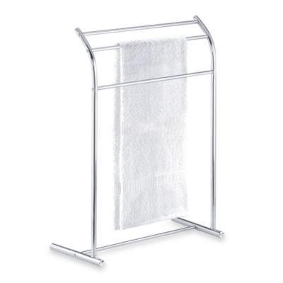 Three-Tier Curved Towel Stand