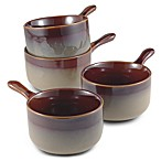 Nova Brown 4 7/8-Inch Onion Soup Bowls (Set of 4)