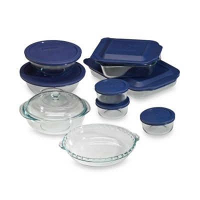 Pyrex® 17-Piece Glass Bakeware Set