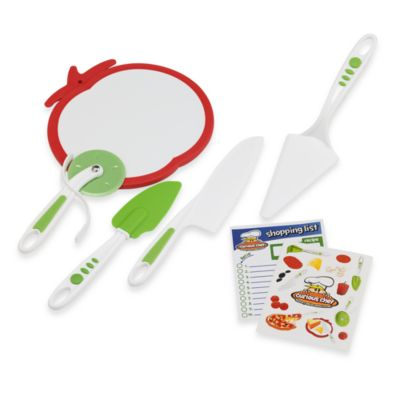 Curious Chef™ 5-Piece Pizza Kit